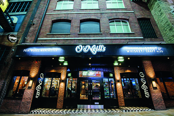 O'Neill's Printworks Manchester