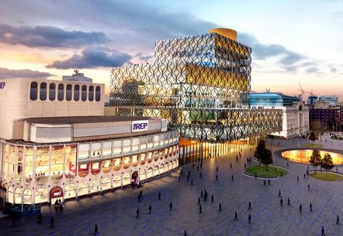 The new Library of Birmingham - Mecanoo