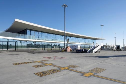 Gibraltar Airport new terminal