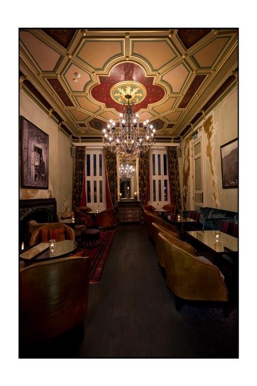 Coya members lounge- Mayfair- London