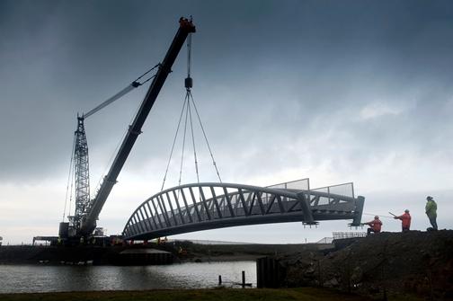 Vierendeel Bridge- Tywyn, North Wales