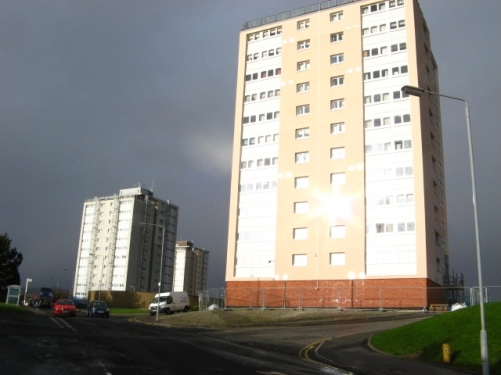 Drumry Multi-Storey Flats- Dunbartonshire -Clydebank