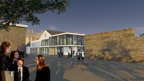 Christ College performing arts centre Brecon