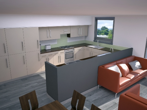 University of Stirling Residences Redevelopment
