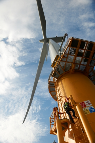 Lincs Offshore Wind Farm-Skegness coast