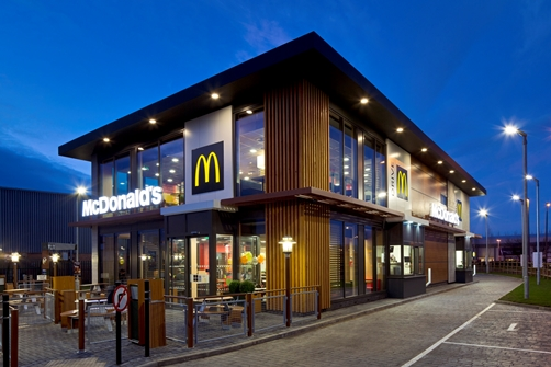 Mc Donalds UK  - Double decker for Elliots- Bognor Regis in West Sussex
