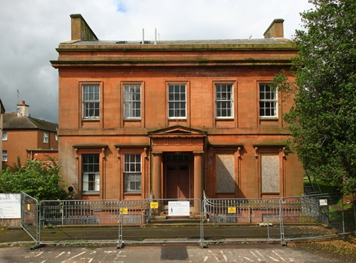 Moat Brae House-the historic spiritual home of Peter Pan - Dumfries
