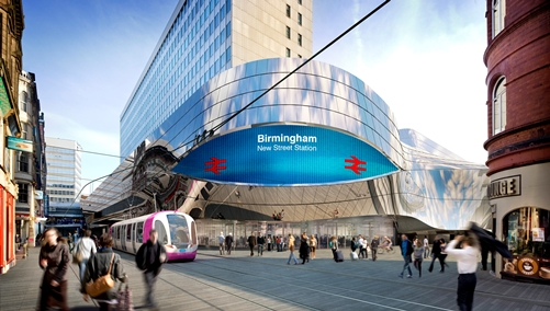 Birmingham Gateway- New Street Station