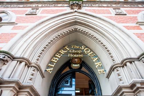 Memorial Hall - Hotel & Restaurant-  The Albert Square Chop Manchester