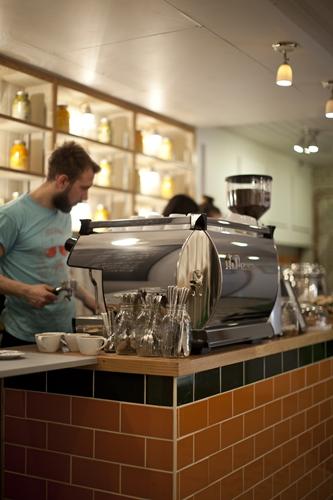 The Attendant coffee shop- 27a Foley Street, London
