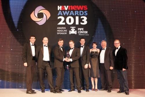Kensa Engineering  won H & V News Awards 2013