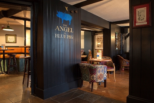The Angel & Blue Pig- Georgian market town of Lymington
