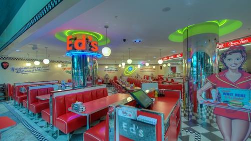Ed's Easy Diner- Euston