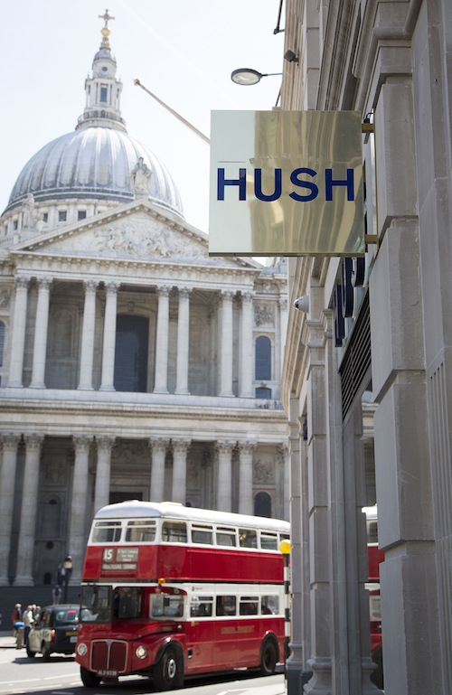 Hush Brasserie- Ludgate Hill- London