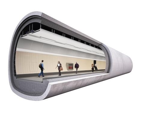 Victoria Tube Station- TFL