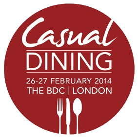 CASUAL DINING- Business Design Centre, Islington, in London, on 26th- 27th February 2014
