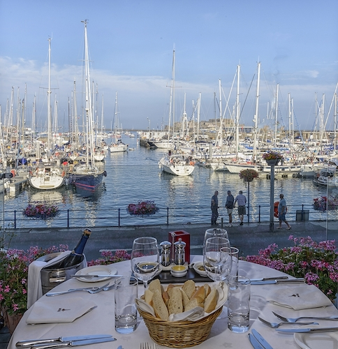 Mora Restaurant & Grill, The Quay, St Peter Port, Guernsey