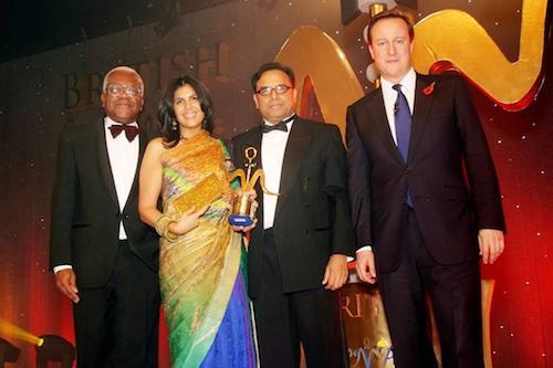 Curry Oscars- British Curry Awards- David Cameron