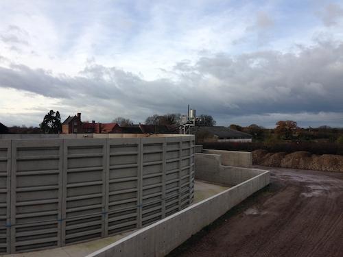 Biogas Plant, renewable energy, Shrewsbury