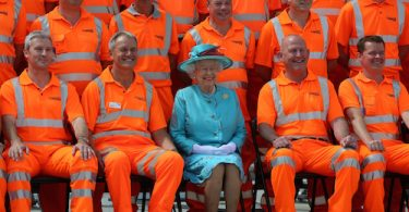 Reading Station, Her Majesty The Queen in a momentous opening ceremony