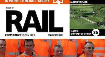 This month in Rail Construction News Issue 1.4- Click Here!