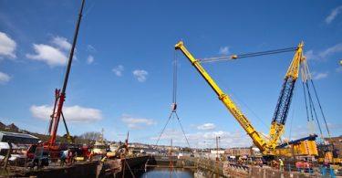 Milford Docks Lock