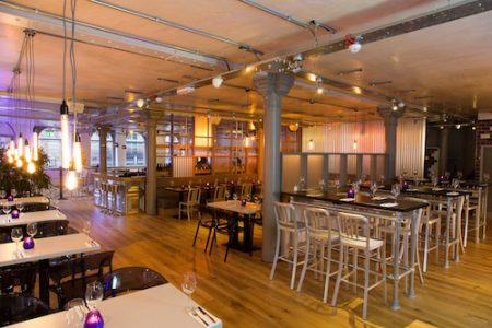 Urban Cookhouse, 54 Princess Street in Manchester city centre