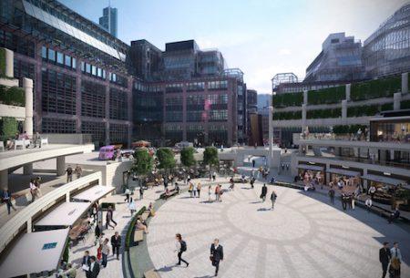 Broadgate Circle, London, Square Mile