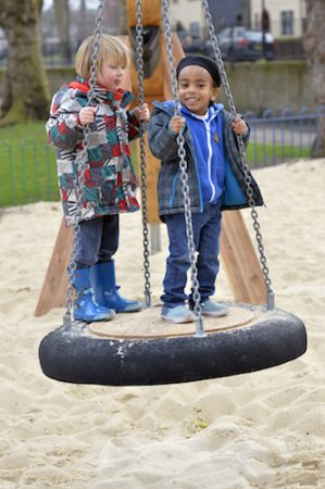 Millfield Park inject natural play