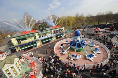 Opening of the Thomas Land Expansion at Drayton Manor Theme Park.