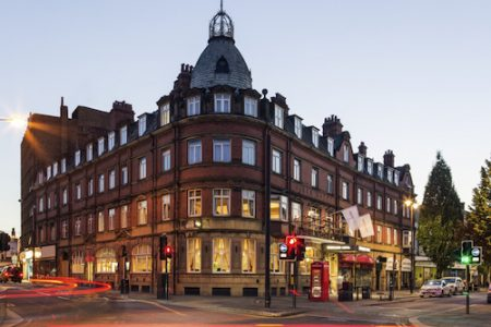 Mercure Doncaster Centre Danum Hotel - exterior night