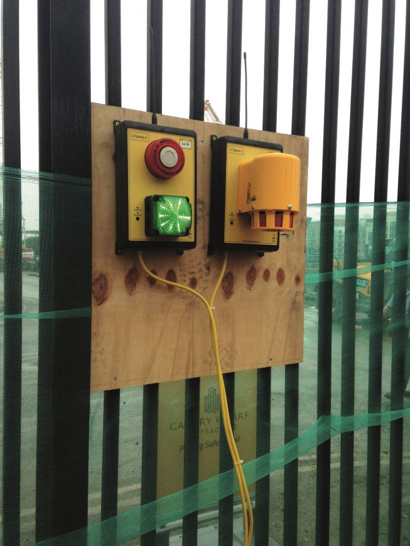 Cygnus Wireless Alarm System Customised For New Canary Wharf Project
