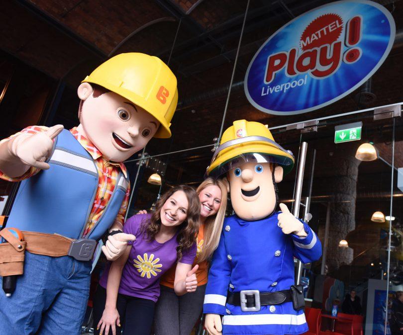 Children's TV Presenters Open Mattel Play! Liverpool