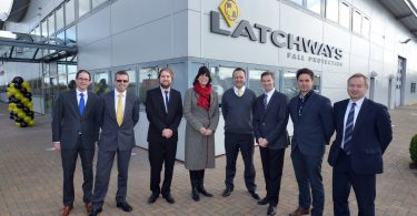 Latchways celebrates engineering innovation