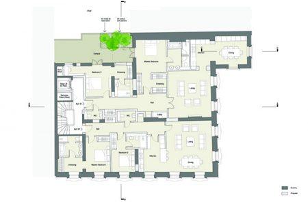 1572(PL)035 Proposed Second Floor Plan