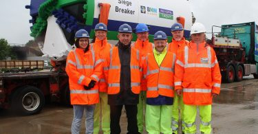 BNM Alliance's 'Siege Breaker' Embarks On Severn Trent Flood Defence Mission