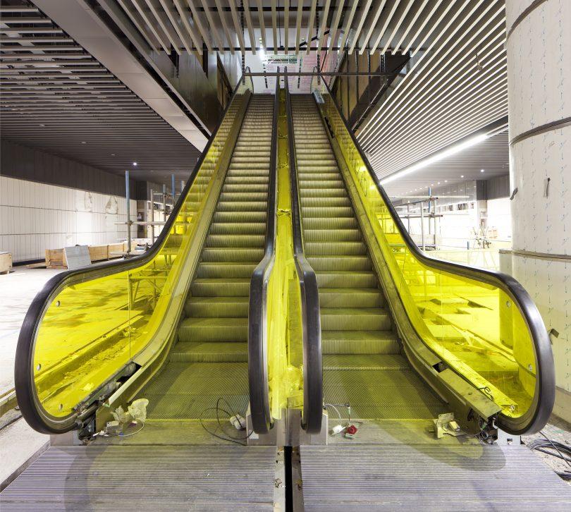 Over 1.5 Kilometres Of Escalators Now Installed in Elizabeth Line Stations