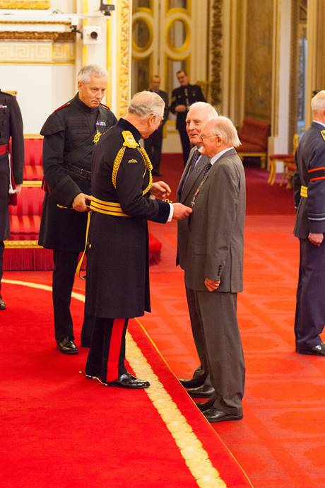 Brian and Alan Stannah Awarded MBE For Services To British Manufacturing