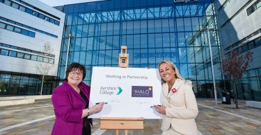 Ayrshire College Partners With Neighbouring HALO