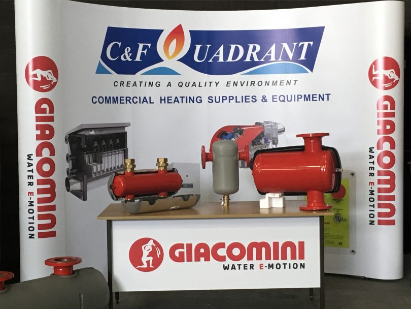 C&F Quadrant Become Supplier of Giacomini Flow Control Products