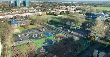 England's Largest District Ground Source System Breaks New Ground