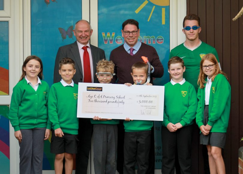 Larkfleet Homes Strengthens Communities With Its Community Fund