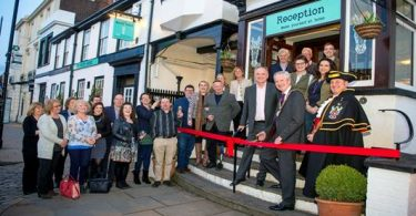 Chairman of Mole Valley District Council Officially Opens The White Horse, Dorking