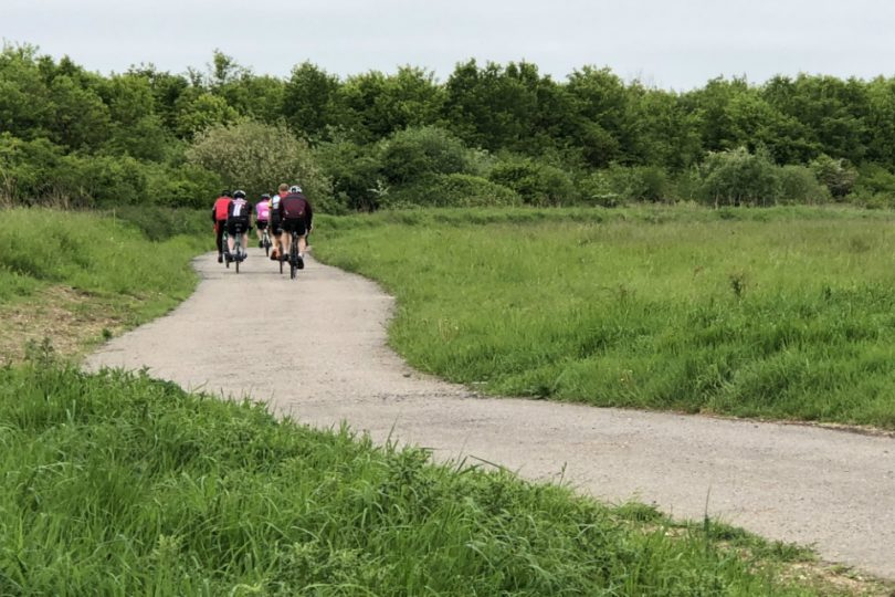 £800k Stansted Cycle Path Upgrade Opens
