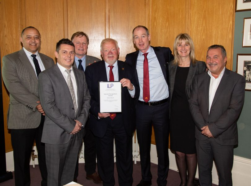 McCann Employee Collects Midlands ILP Long-Service Award After Clocking up 40 Years Industry Experience!