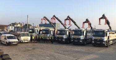 Rudridge Gravesend Welcomes New Fleet of Lorries