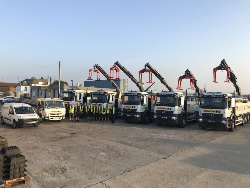 Rudridge Gravesend Welcomes New Fleet of Lorries