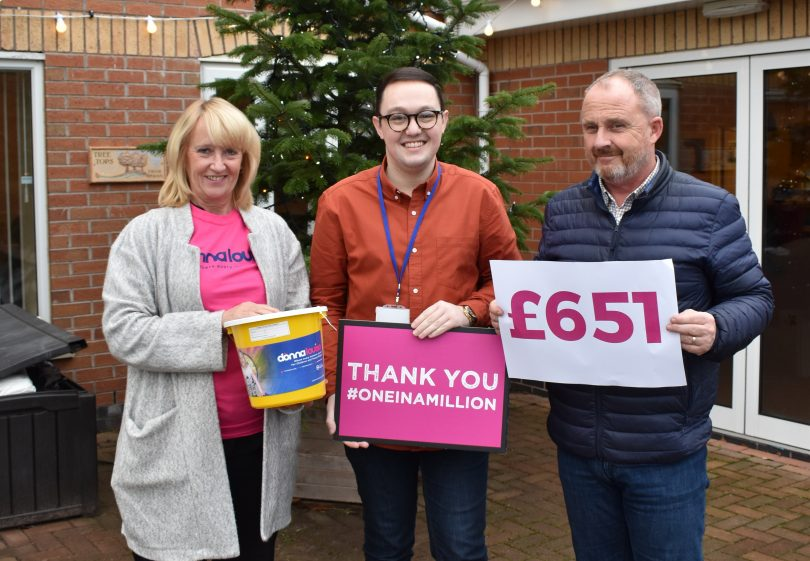 Stoke-on-Trent Window Company Raises Over £900 in Christmas Fundraising Campaign