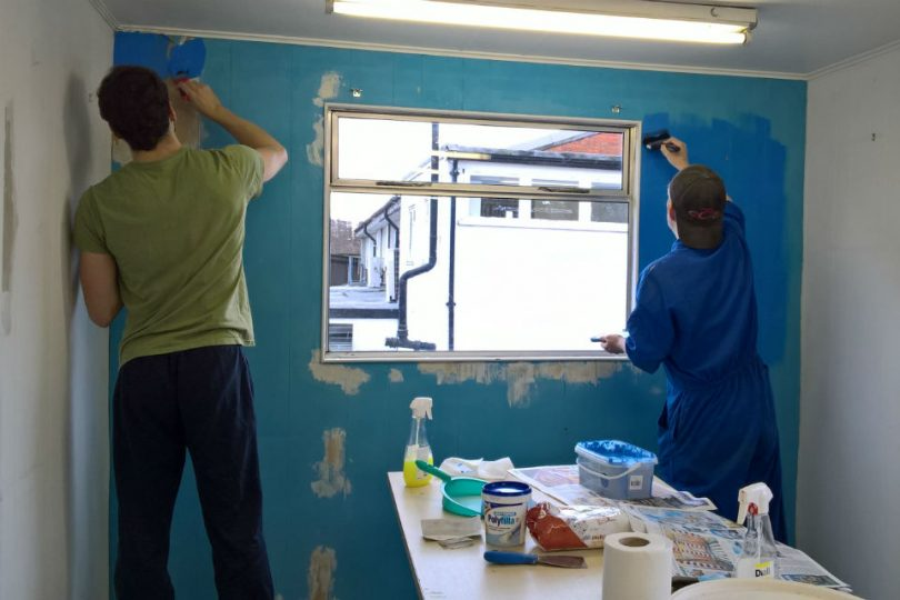 New Year, New Lick of Paint for Local Charity