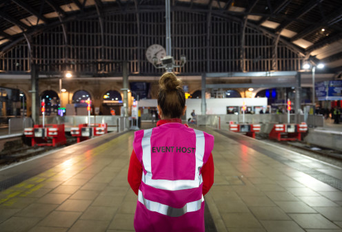 Virgin Trains Teams Trained in Conflict Resolution Help Customers on Match Days